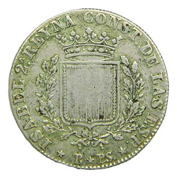 Isabel II (1833-1868). 1837 PS. 1 ...
