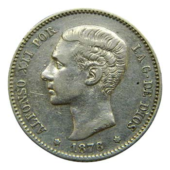 Alfonso XII (1874-1885). 1876 ...