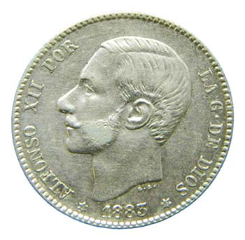 Alfonso XII (1874-1885). 1883 ...