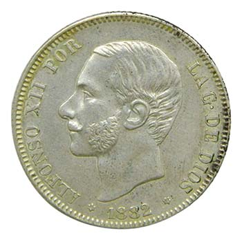 Alfonso XII (1874-1885). 1882 ...