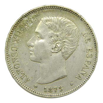 Alfonso XII (1874-1885). 1875 ...